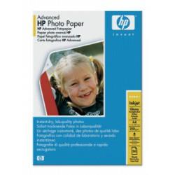 Q8698A Fotópapír, tintasugaras, A4, 250 g, fényes, HP