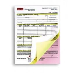 Önátíró papír, A4, 3 példányos, XEROX