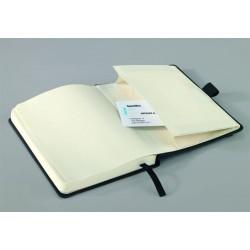 """Jegyzetfüzet, exkluzív, A6, kockás, 194 oldal, keményfedeles, SIGEL """"Conceptum"""", fekete"""