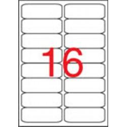 Etikett, univerzális, 99,1x34 mm, kerekített sarkú, APLI, 1600 etikett/csomag