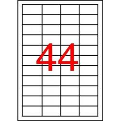 Etikett, univerzális, 48,5x25,4 mm, APLI, 440 etikett/csomag