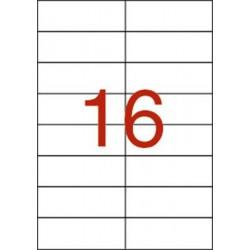 Etikett, univerzális, 105x37 mm, APLI, 160 etikett/csomag