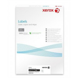 Etikett, univerzális, 70x37 mm, XEROX, 2400 etikett/csomag