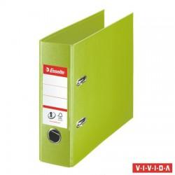 "Iratrendező, 75 mm, banki, PP, ESSELTE ""Standard"", Vivida zöld"
