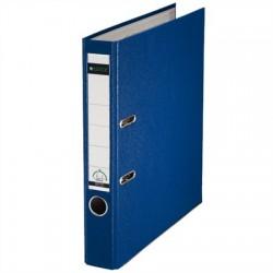 """Iratrendező, 52 mm, A4, PP/karton, élvédő sínnel, LEITZ """"180"""", kék"""