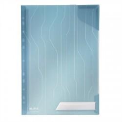 """Genotherm, """"L"""", lefűzhető, A4, 200 mikron, LEITZ """"CombiFile"""", kék"""