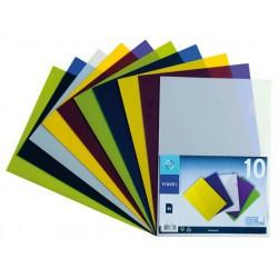 """Genotherm, """"L"""", A4, 200 mikron, VIQUEL """"Trend"""", vegyes színek"""