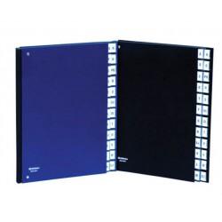 Előrendező, A4, 1-31, karton, DONAU, sötétkék