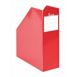 """Iratpapucs, karton, 90 mm, VICTORIA, """"Premium"""", piros"""
