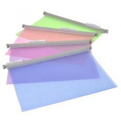 """Függőmappa, műanyag, VIQUEL """"Propysoft"""", vegyes színek"""
