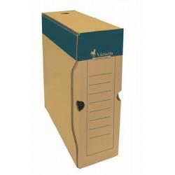 Archiváló doboz, A4, 100 mm, karton, VICTORIA, natúr