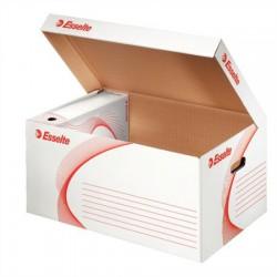"""Archiváló konténer, karton, felfelé nyíló, ESSELTE """"Standard"""", fehér"""
