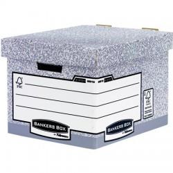 "Archiváló konténer, karton, standard, ""BANKERS BOX"