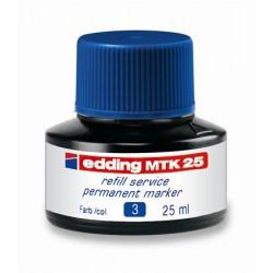 """Utántöltő alkoholos markerhez, EDDING """"MTK 25"""", kék"""