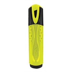 "Szövegkiemelő, 1-5 mm, MAPED ""Fluo Peps Classic"", sárga"