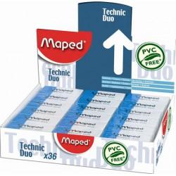 "Radír display, kombinált, MAPED ""Technic Duo"""