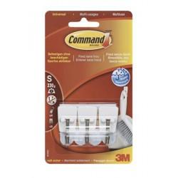 """Mini műanyag akasztó fém kampóval, 3M """"Command"""""""
