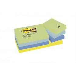 Öntapadó jegyzettömb, 38x51 mm, 100 lap, 3M POSTIT, álmodozó színek