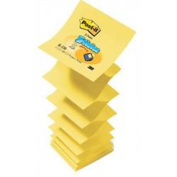 """Öntapadó jegyzettömb, """"Z"""", 76x76 mm, 100 lap, 3M POSTIT, sárga"""