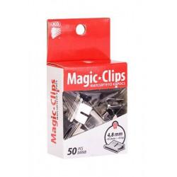 """Kapocs, 4,8 mm, ICO """"Magic Clip"""""""