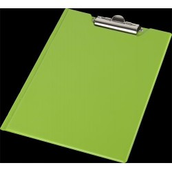 Felírótábla, fedeles, A4, sarokzsebbel, PANTAPLAST, pasztell zöld