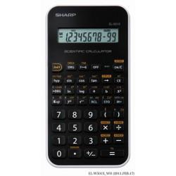 """Számológép, tudományos, 131 funkció, SHARP """"EL-501X"""", fehér"""