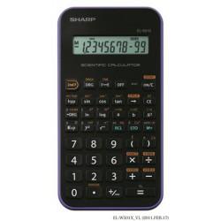 """Számológép, tudományos, 131 funkció, SHARP """"EL-501XVL"""", lila"""