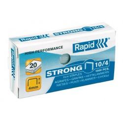 """Tűzőkapocs, 10/4, horganyzott, RAPID """"Strong"""""""