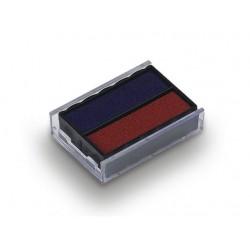 """Bélyegző cserepárna, TRODAT """"4850"""", piros-kék"""