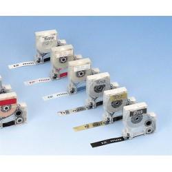"""Feliratozógép szalag, tartós poliészter 12 mm x 5,5 m, DYMO """"D1"""", fehér-fekete"""