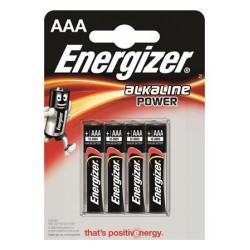 """Elem, AAA mikro, 4 db, ENERGIZER """"Alkaline Power"""""""