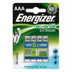 """Tölthető elem, AAA mikro, 4x800 mAh, előtöltött, ENERGIZER """"Extreme"""""""
