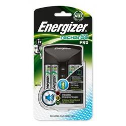 """Elemtöltő, AA ceruza/AAA mikro, 4x2000 mAh  AA (előtöltött), kijelzővel, ENERGIZER """"Pro"""""""