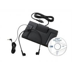 """Átjátszó készlet (lábpedál,fülhallgató, DSS Player Standard átírómodul), OLYMPUS """"AS-2400"""""""
