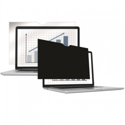 """Monitorszűrő, betekintésvédelemmel, 305x191 mm, 14,1"""", 16:10 FELLOWES PrivaScreen™, fekete"""
