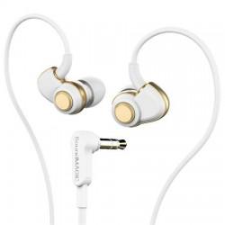 """Fülhallgató, SOUNDMAGIC """"PL30+"""", fehér-arany"""