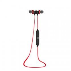 """Fülhallgató, mikrofon, vezeték nélküli, Bluetooth, cseppálló, HD hang, AWEI """"A980BL"""", piros"""