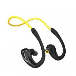 """Fülhallgató, vezeték nélküli, Bluetooth, sport kivitel, AWEI """"A880BL"""", sárga"""
