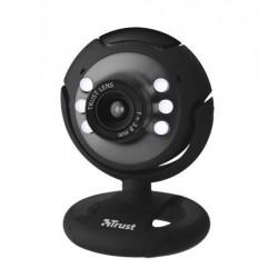"""Webkamera, beépített mikrofonnal, LED világítással, USB, TRUST """"SpotLight"""""""