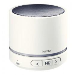 """Hangszóró, mini, hordozható, sztereó, Bluetooth, LEITZ """"Wow"""", fehér"""