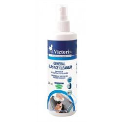 Tisztítófolyadék, általános felületre, antisztatikus, aeroszol nélkül, 250 ml, VICTORIA