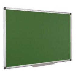 Krétás tábla, zöld felület,  nem mágneses, 120x180 cm, alumínium keret