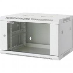 "Rackszekrény, 19"", 15U, 770x570x450 mm, fali, INTELLINET, szürke"