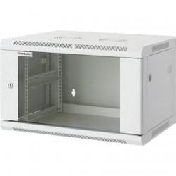 "Rackszekrény, 19"", 9U, 500x570x600 mm, fali, INTELLINET, szürke"