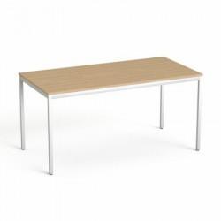 """Általános asztal fémlábbal, 75x150 cm, MAYAH """"Freedom SV-39"""", kőris"""