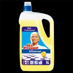 Univerzális padló-és felülettisztító, 5 l, MR PROPER, lemon