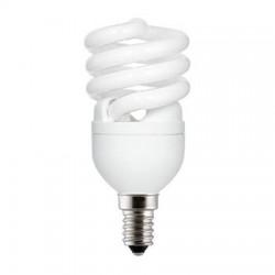 Kompakt fénycső, E14, FLE12HLX spirál, 12W/827, 10000 óra, GE/TUNGSRAM