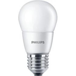 """LED izzó, E27, csillár, 7W, 806lm, 230V, 2700K, P48, PHILIPS """"CorePro"""""""