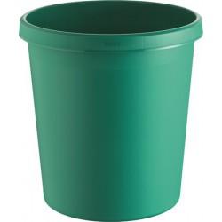 Papírkosár, 18 liter, HELIT, zöld
