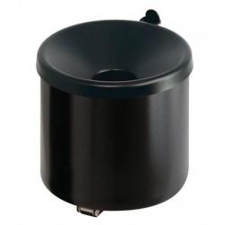 Fali hamutartó, alumínium, henger alakú, VEPA BINS, fekete